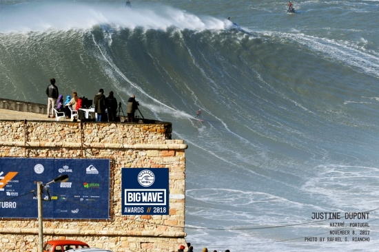 Ride of the year Justine Dupont Nazaré 2018